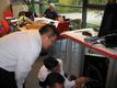 汉龙实业工程师赴德国参加赛数书刊扫描仪的技术培训