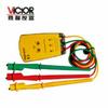勝利VC850A三相交流電相位計相序表 測試儀 檢測傳感器 特價儀器