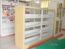 YGXD-SJ-S-A 雙柱雙面矮書架