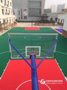 浩康悬浮式拼装地板打造的运动场
