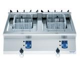 座台式电力双缸炸炉QFRE800T