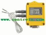 智能温度记录仪/温湿度记录仪(液晶显示 双路) 型号:HDY3ZDR21H