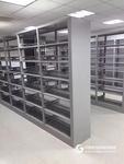 厂家直销钢制双面书架 木制书架