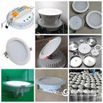 歐款LED筒燈外殼,15W 18W 20W筒燈外殼