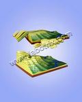 教學模型-地質構造模型-等高線模型