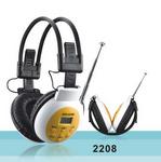 ADS-2208頭戴式立體聲調頻耳機,教學耳機,學生耳機