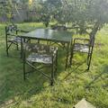 便携式钢桌 野战餐桌 户外餐桌 可折叠钢制餐桌(尺寸可定制)