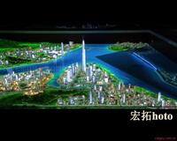 杭州宏拓电子沙盘触摸屏一体机