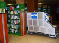 連續型圖書殺菌機|圖書消毒柜/殺菌機|圖書連續殺菌除塵柜