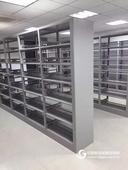 廠家直銷鋼制雙面書架 木制書架