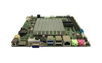 ELSKY M218F-2C J1800 雙核2.4超薄無風扇工控機主板雙網單網可選