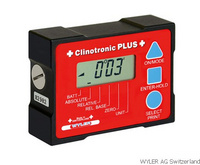 數顯電子傾角儀|瑞士WYLER Clinotronic PLUS