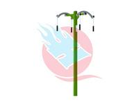 天健體育供應天水三位扭腰器上肢牽引器戶外健身路徑器材