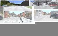 应用于智能驾驶复杂交通场景仿真工具