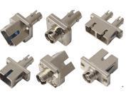 FC/SC/ST/LC/MU/MTRJ/E2000转接型光纤适配器(法兰盘)