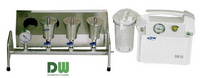 DW-28型 水中微生物膜過濾裝置(三聯)
