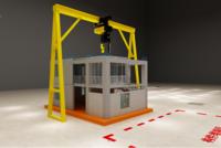 裝配式建筑混凝土結構工法樓(PC-House) 互動沙盤