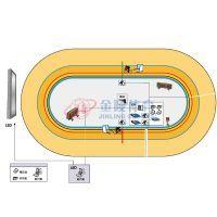 自行车场地赛计时记分系统
