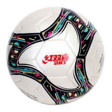 红双喜【DHS】5号无缝热粘合PU成人学生比赛训练用球足球FS136