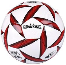 全兴【QuanXing】5号足球校园学生训练比赛PU耐磨柔软足球2128