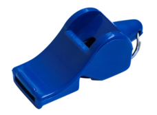 STAR世达足球篮球专业比赛裁判哨塑料救生口哨无核带绳XH221