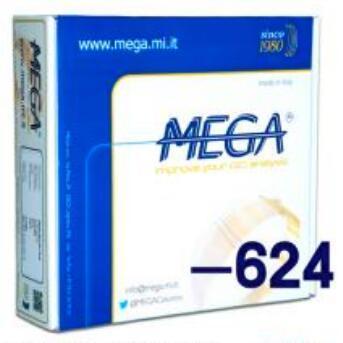MEGA用于检测药典四部色谱柱