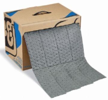 MAT242经济型通用吸附垫|美国newpig吸附垫|经济型通用吸附垫 18米x38厘米/箱,吸附量30公升