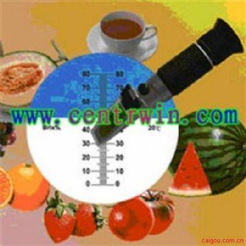 手持式糖度计/折光仪(0-15%) 型号:HFCWYT-N