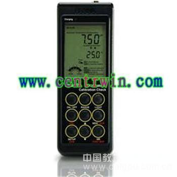 便携式pH测定仪/温度测定仪/酸度计(防水型)意大利 型号:CEN/HI9124