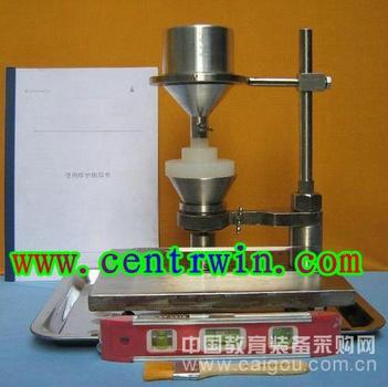 粉体材料安息角测定仪 型号:SL-C6609
