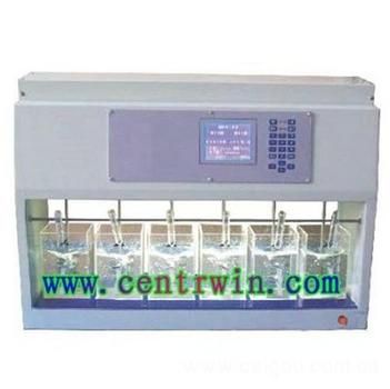 程控混凝试验搅拌仪/六联搅拌器 型号:HL-KTS6-1