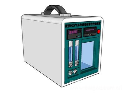 矿用便携硫化氢报警仪检定装置