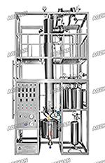 釜式反应器精馏联合实验装置
