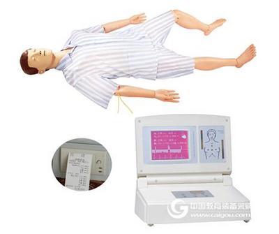高级电脑半身心肺复苏模拟人 上海秉恪科教设备有限公司