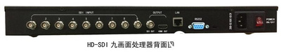 尼科NK-HD3009SDI9路SDI画面分割器