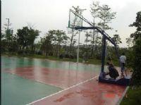供应硅Pu塑胶弹性球场(硅Pu篮球场,硅Pu网球场,硅Pu羽
