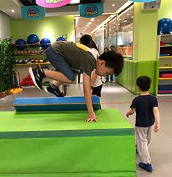 DS-T-001幼儿园软包|体适能平衡木|软包平衡木