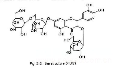 槲皮素-3-O-β-D-葡萄糖-7-O-β-D-龙胆双糖苷标准品对照品