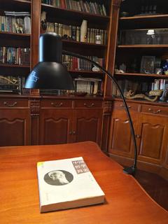 馬歇爾臺燈土衛六自然光LED燈書桌閱讀辦公室工作學生護眼夾子燈