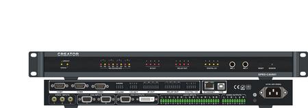 SPRO-CAV801 多媒体网络型可编程主机