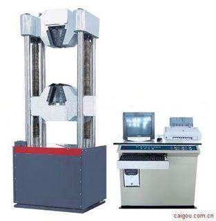 WEW-600微机电液伺服钢绞线拉力试验机
