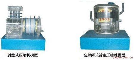 压缩机模型实验设备