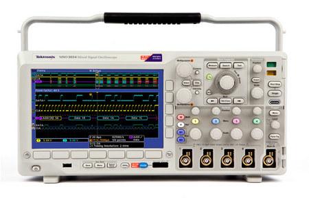 泰克MSO/DPO3000系列混合信号/数字荧光示波器