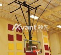 领先凯锐—吊顶式折叠篮球架电动悬空篮球架