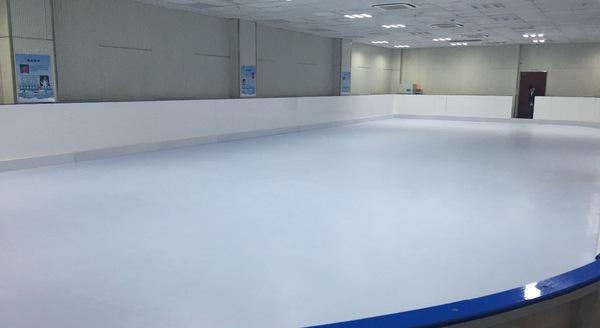 上海奉贤中学试点仿真冰场