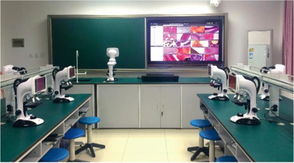 北京中关村中学生物互动实验室案例介绍