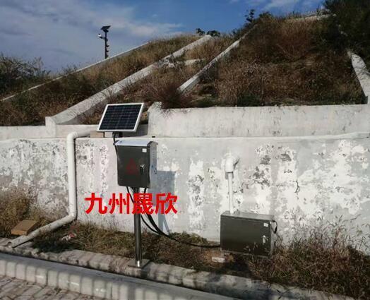 子長縣水保站徑流泥沙監測系統安裝完畢