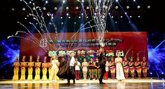 安徽临泉谋划把杂技学校纳入职业教育体系