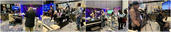 TheONE再次亮相美国NAMM show,引媒体纷纷采访!