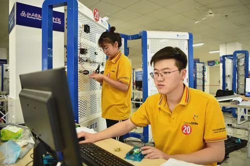 新大陆教育助力2021全国职业院校技能大赛高职物联网技术应用赛项
